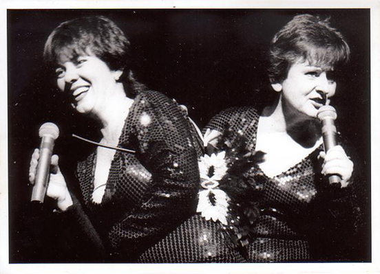 photo of Julie McCrossin and Virginia Bell