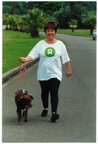 Julie McCrossin and Red, promo for Walk Against Want 2006