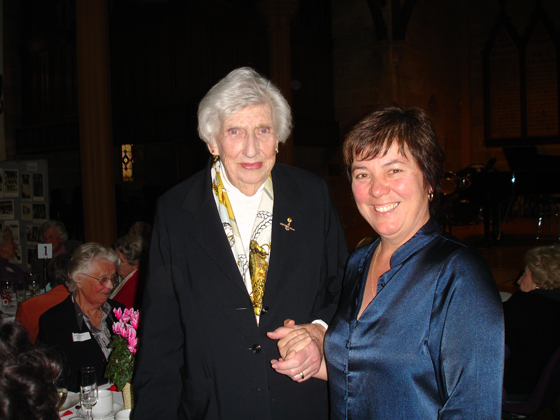 photo of Julie and Margaret Whitlam